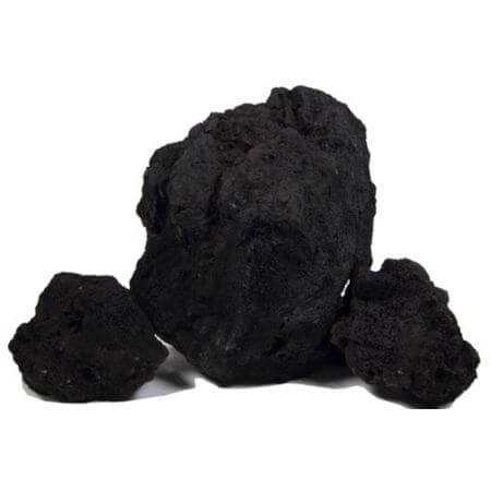 Lava stones - black