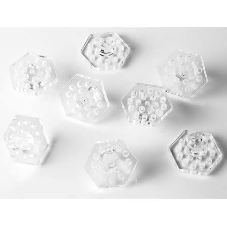 Marine Sources SPS plugs hexagon (5 stuks)