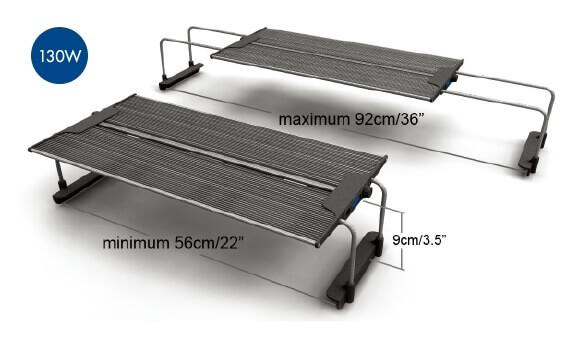 MAXSPECT Razor R420R 130W afmetingen