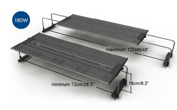 MAXSPECT Razor R420R 180W afmetingen