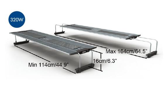 MAXSPECT Razor R420R 320W afmetingen