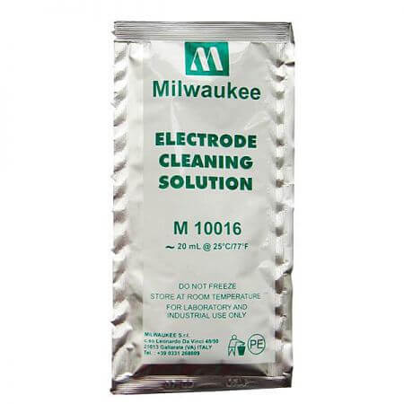 Milwaukee Cleaning Solution for Electrodes - Sachet a 20ml.