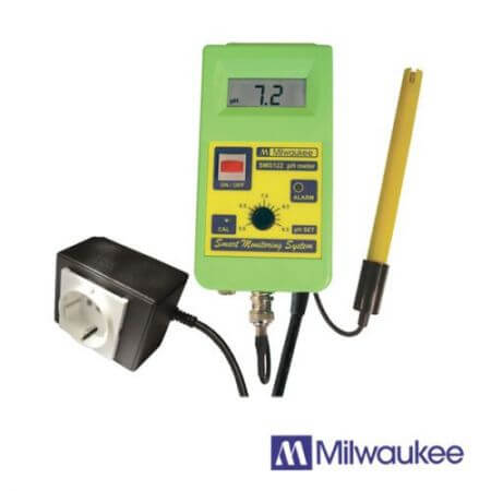 Milwaukee pH Controller incl. pH electrode