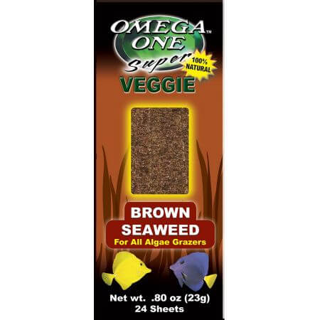 Omega One Seaweed Brown 24 sheets
