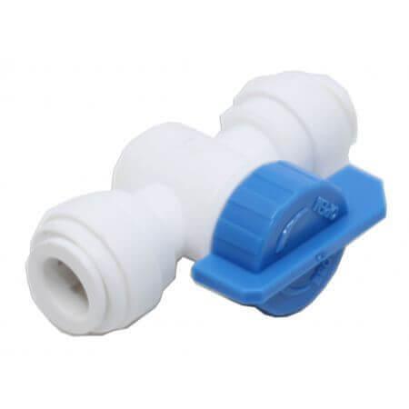 Osmosekraantje met 2 quick-fit verbindingen 9mm recht-model