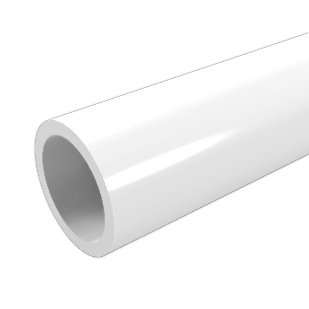 Super PVC buis - kleur wit | PVC buizen, koppelingen, kranen & lijm LD-44