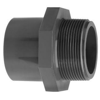 PVC draadeind (lijmsok x buitendraad)