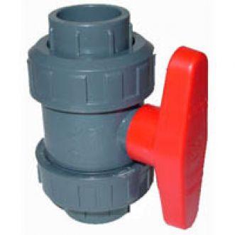 PVC kogelafsluitkraan