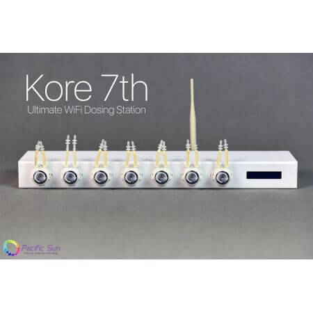 Pacific Sun Kore 7th 7 kanaals doser Ultimate - with 2x pH electrode ports and all modules