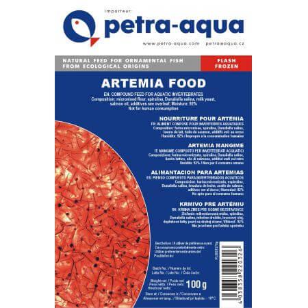 Petra Artemia voedsel Diepvries 100Gr.
