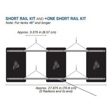 Radion Plus One Short Rail Kit