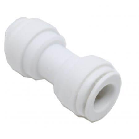 Rechte verlenger voor osmoseslang 9mm - 2 x quick-fit