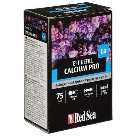 Red Sea Calcium Pro - reagentia navulling Kit