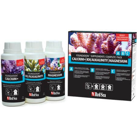 Red Sea Reef Foundation Starter Kit A, B & C - 3 x 250ml