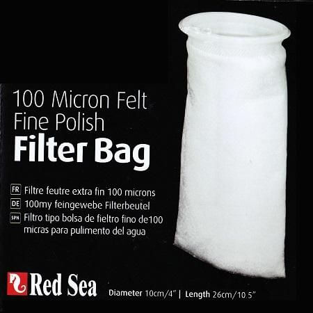 Red Sea 100 micron Felt Fine filter bag