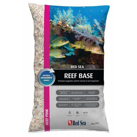 Red Sea sand Reef Base - Reef Pink 10kg. 0,5-1,5mm - doos a 2 st.