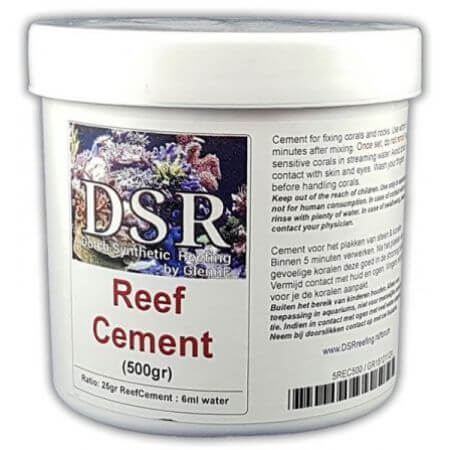 Reef Cement (clay), for creating rock formations, 5 minutes 500gr