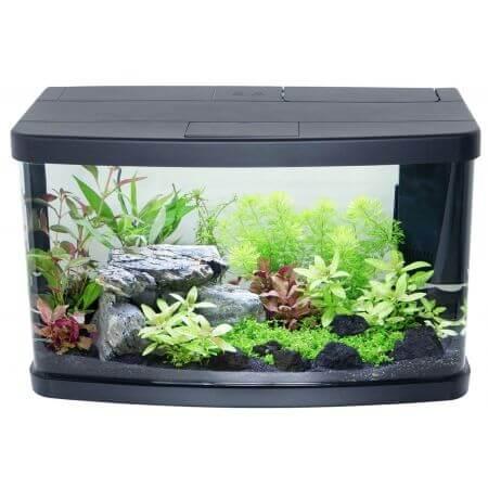 Resun Aquarium compleet - afgerond - met LED deksel en hoekfilter