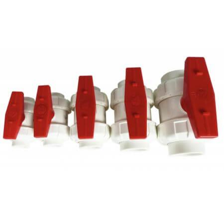 Royal Exclusive PVC True Union Kogelkraan wit/rood