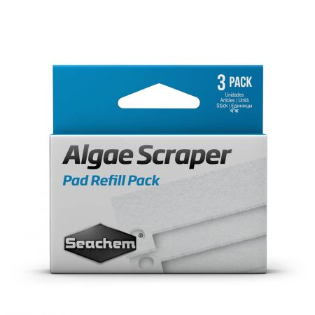 Seachem Algae Scraper Replacement Scrubber pads 3 pack