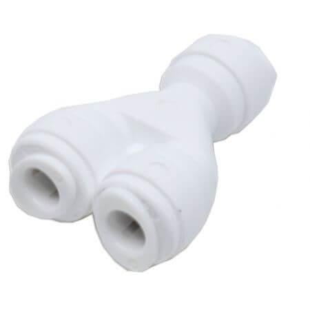 Splitser voor osmoseslang 6mm - 1 x quick-fit - 2 x quick-fit