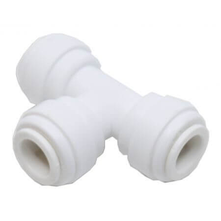 T-stuk voor osmoseslang 9mm - 3 x quick-fit verbinding