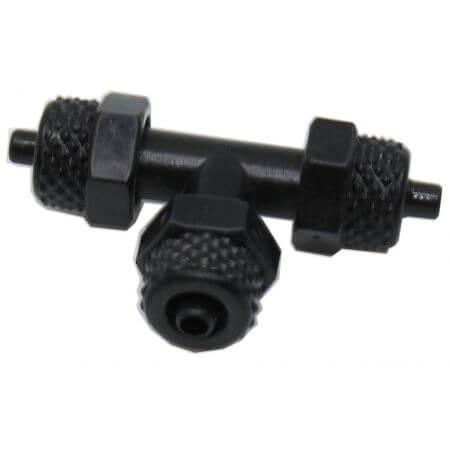 T-stuk voor plastic slang 4mm