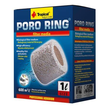Tropical Poro Ring filter media