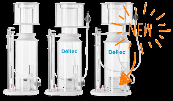 Nieuwe Deltec eiwitafschuimers 2017 modellen